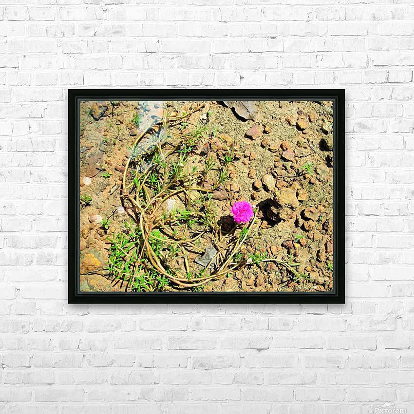 Flower16 HD Sublimation Metal print with Decorating Float Frame (BOX)