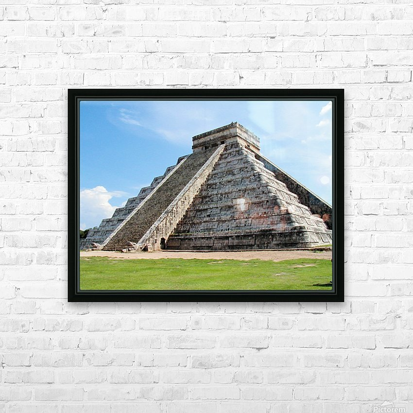 Myan2 HD Sublimation Metal print with Decorating Float Frame (BOX)