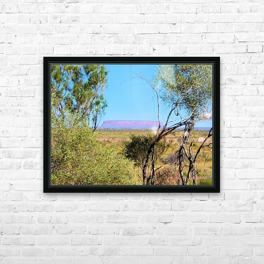 Outback6 HD Sublimation Metal print with Decorating Float Frame (BOX)