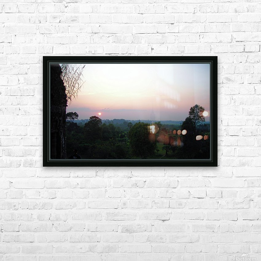 Sunset43 HD Sublimation Metal print with Decorating Float Frame (BOX)