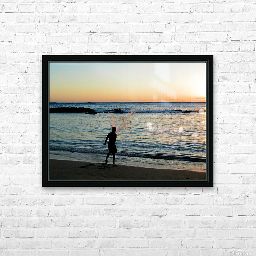 Sunset30 HD Sublimation Metal print with Decorating Float Frame (BOX)