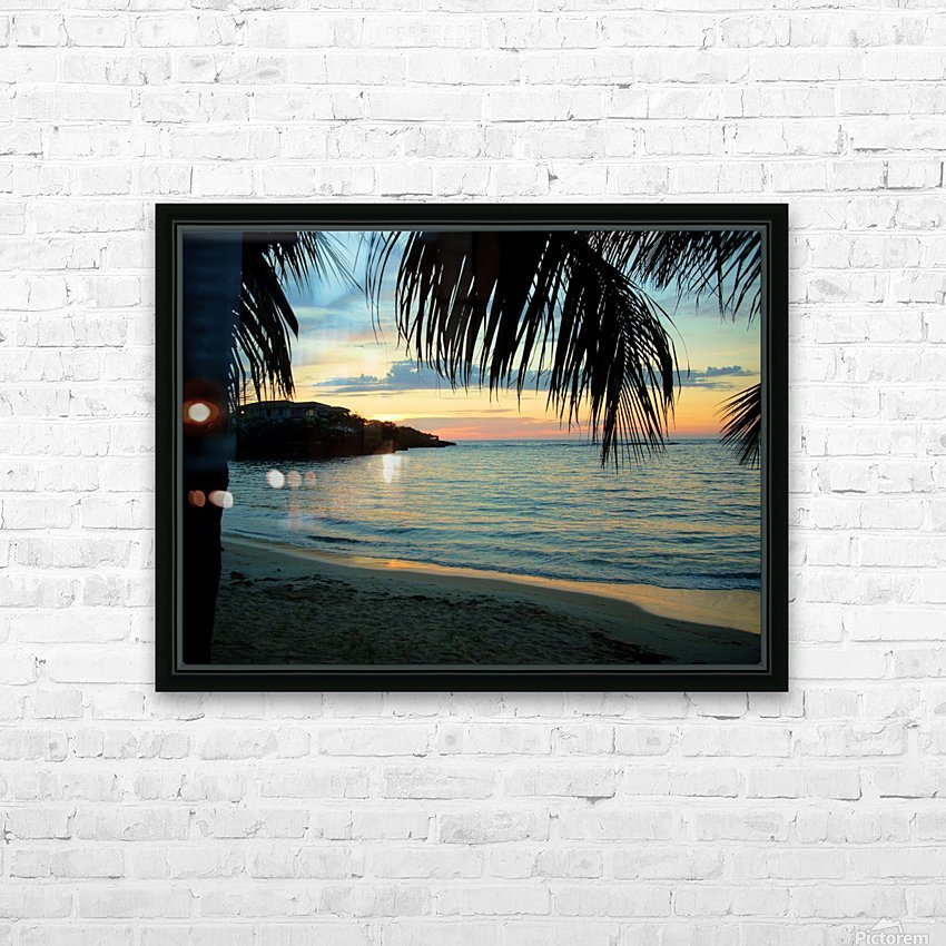 Sunset11 HD Sublimation Metal print with Decorating Float Frame (BOX)