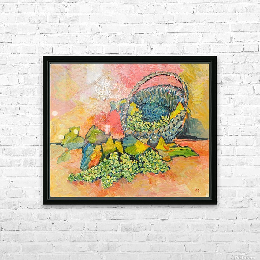 G125 HD Sublimation Metal print with Decorating Float Frame (BOX)