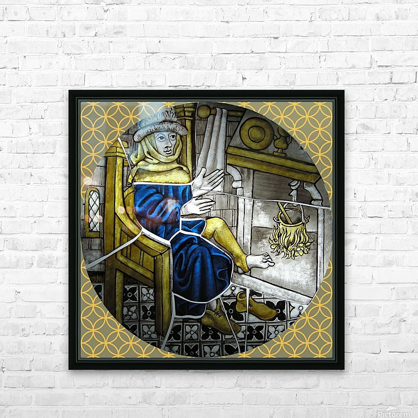 Labours of the Month 2.jpg HD Sublimation Metal print with Decorating Float Frame (BOX)