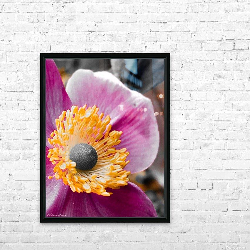 I am pink  HD sublimation métal imprimé avec décoration flotteur cadre (boîte)