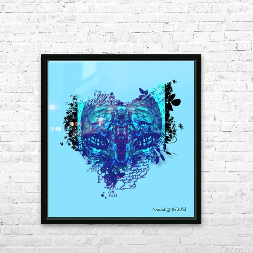 pix_lab_322 HD Sublimation Metal print with Decorating Float Frame (BOX)