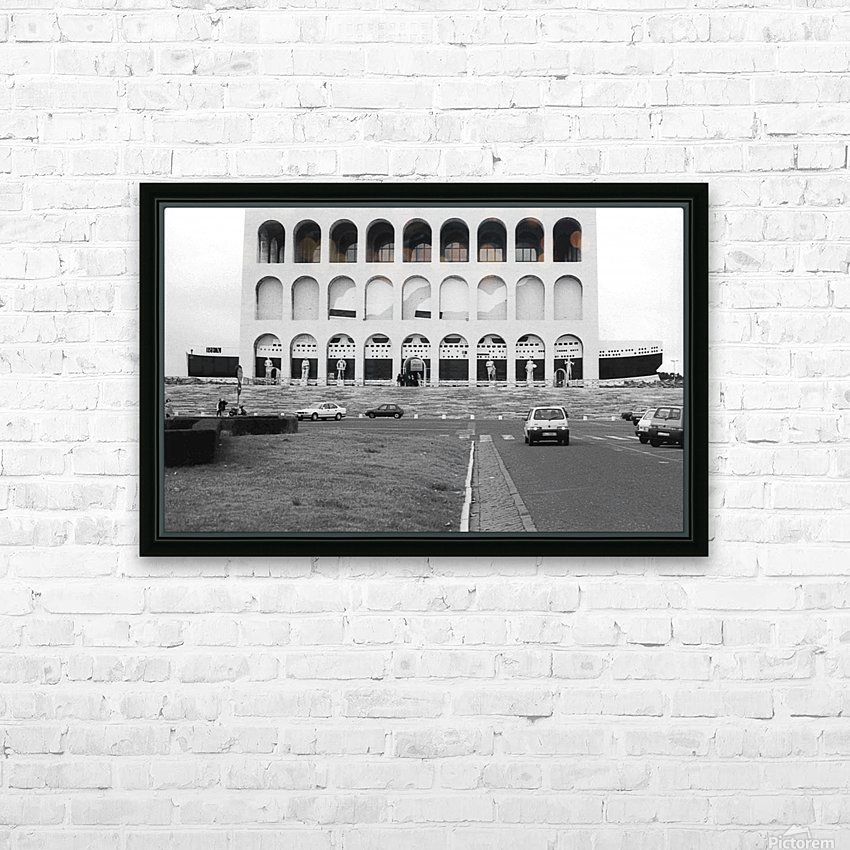 e la nave va 1 HD Sublimation Metal print with Decorating Float Frame (BOX)