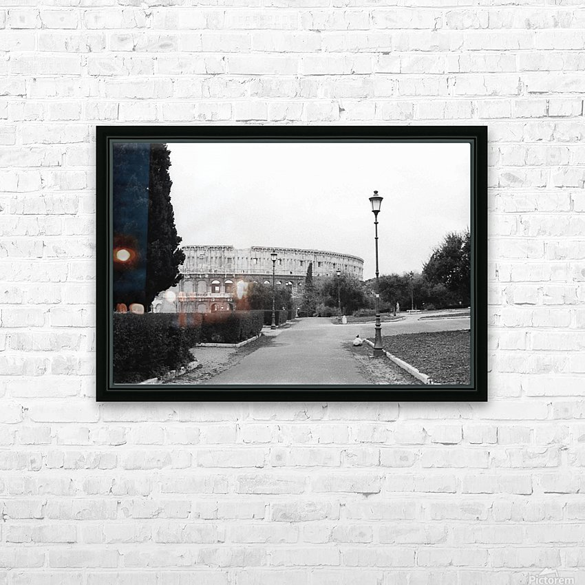 Rome 1 HD Sublimation Metal print with Decorating Float Frame (BOX)