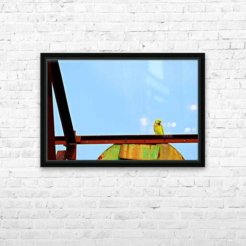 Balancing HD Sublimation Metal print with Decorating Float Frame (BOX)