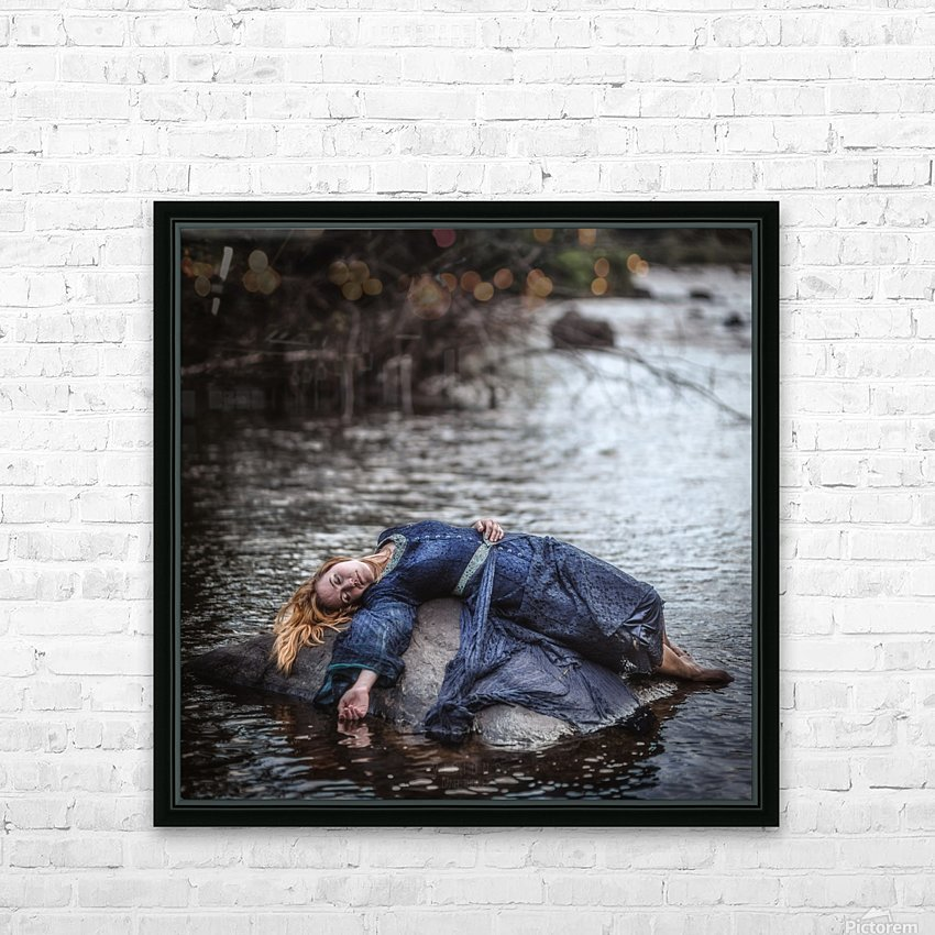 Wrecked HD Sublimation Metal print with Decorating Float Frame (BOX)