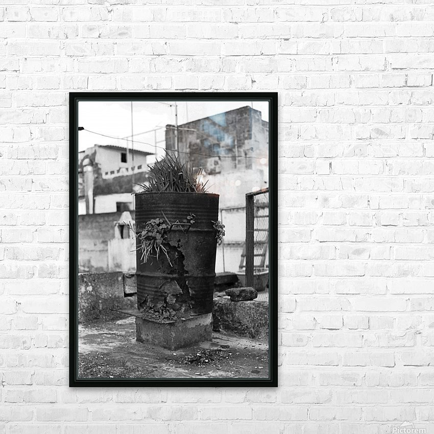 Fu Bidone HD Sublimation Metal print with Decorating Float Frame (BOX)