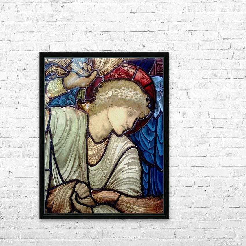 Edward Burne Jones 14 HD Sublimation Metal print with Decorating Float Frame (BOX)