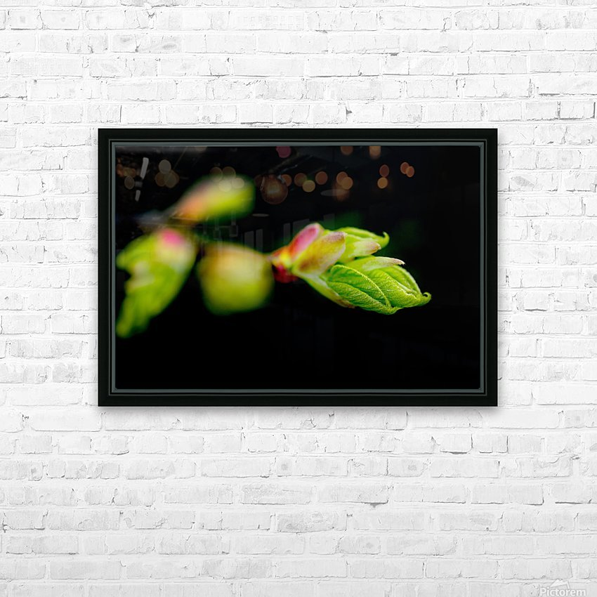 Stepping out from the dark HD Sublimation Metal print with Decorating Float Frame (BOX)