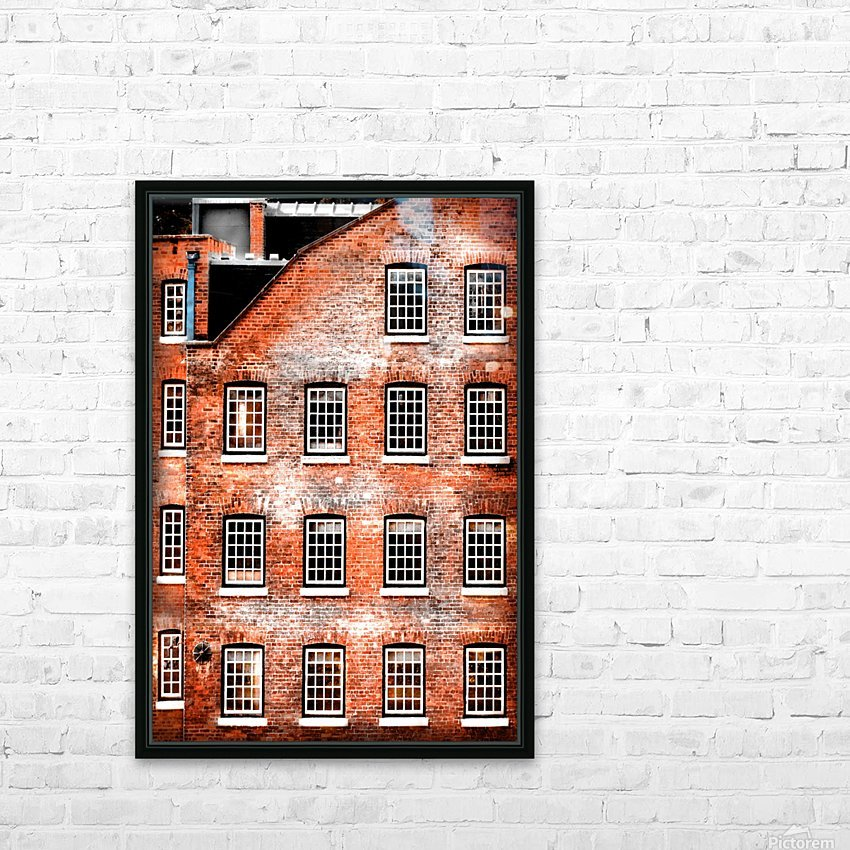 Squares HD Sublimation Metal print with Decorating Float Frame (BOX)