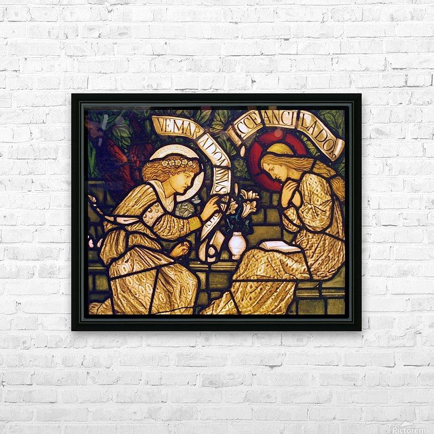 Edward Burne Jones 18 HD Sublimation Metal print with Decorating Float Frame (BOX)