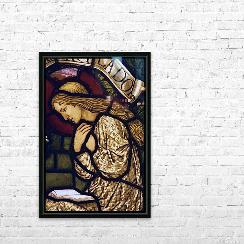 Edward Burne Jones 19 HD Sublimation Metal print with Decorating Float Frame (BOX)