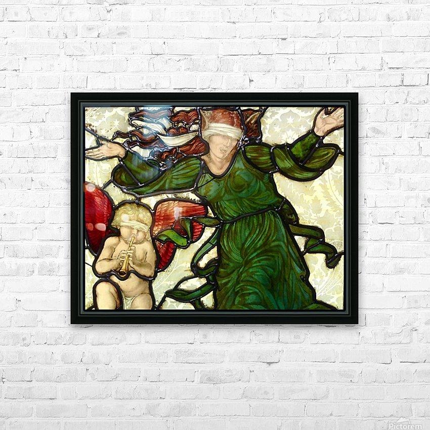 Edward Burne Jones 10 HD Sublimation Metal print with Decorating Float Frame (BOX)