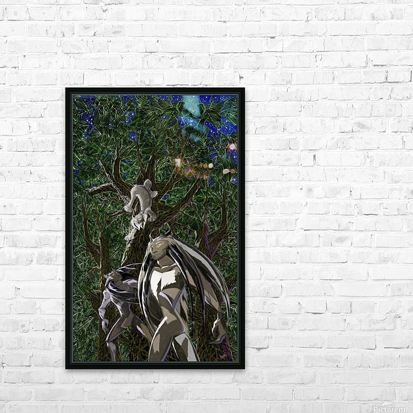 Lynx_Pesoak_Anik_Lafreniere HD Sublimation Metal print with Decorating Float Frame (BOX)