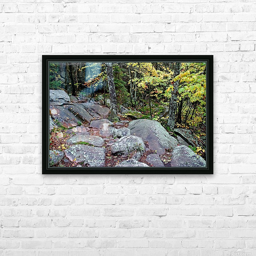 Chikanishing Trail HD Sublimation Metal print with Decorating Float Frame (BOX)