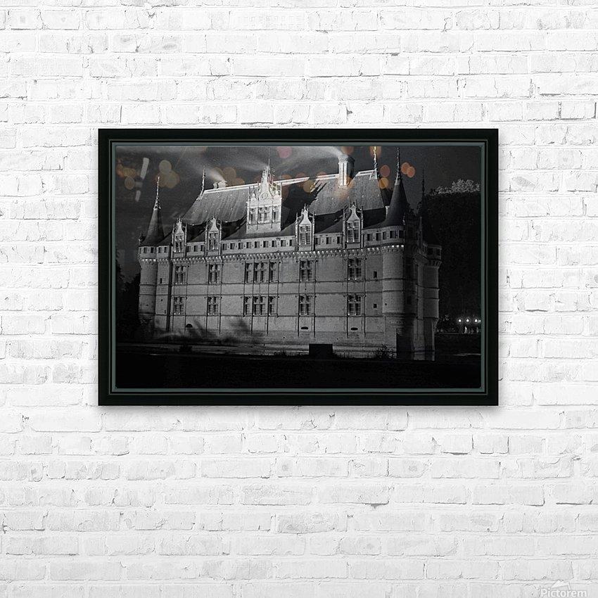 Azay le Rideau   Châteaux de la Loire  HD Sublimation Metal print with Decorating Float Frame (BOX)