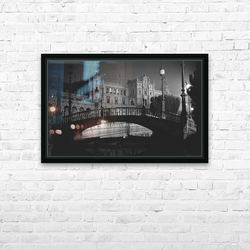 Plaza Mayor Sevilla  HD Sublimation Metal print with Decorating Float Frame (BOX)