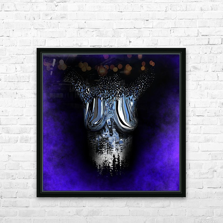 Ephemeral Desire 100 HD Sublimation Metal print with Decorating Float Frame (BOX)