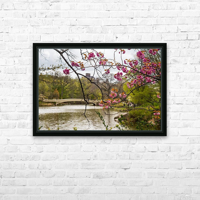 Central Park HD Sublimation Metal print with Decorating Float Frame (BOX)