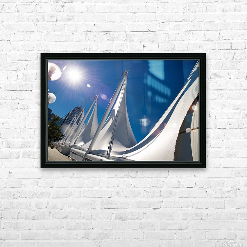 Seattle Washington HD Sublimation Metal print with Decorating Float Frame (BOX)