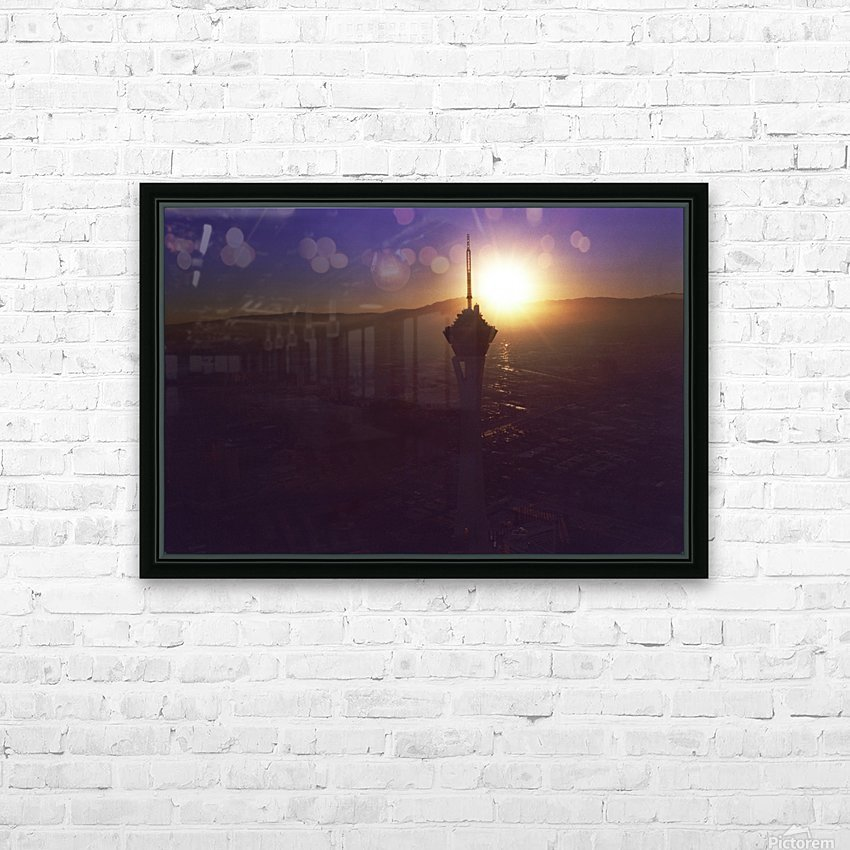 Stratosphere HD Sublimation Metal print with Decorating Float Frame (BOX)