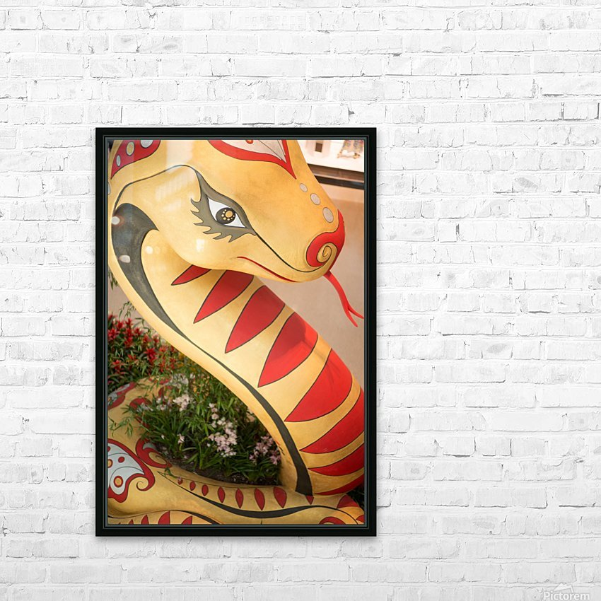 Chinese New Year HD Sublimation Metal print with Decorating Float Frame (BOX)
