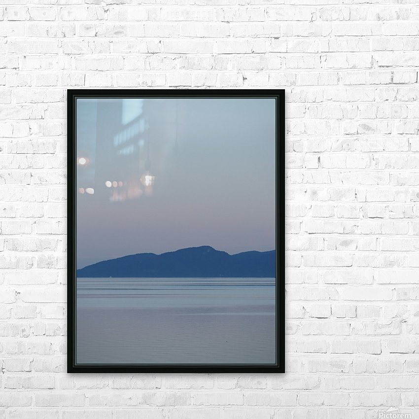 Evening at Transfer Beach HD Sublimation Metal print with Decorating Float Frame (BOX)