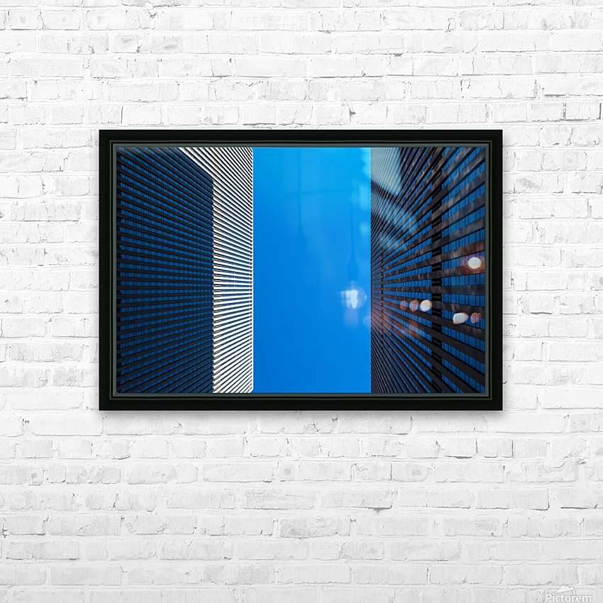 NEW YORK CITY 02 HD Sublimation Metal print with Decorating Float Frame (BOX)