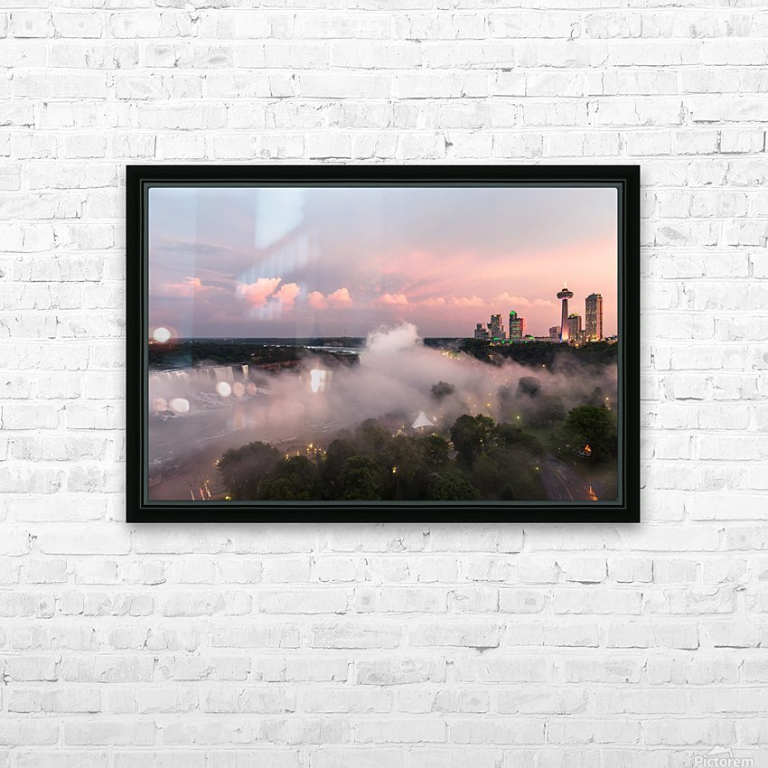 NIAGARA FALLS 14 HD Sublimation Metal print with Decorating Float Frame (BOX)