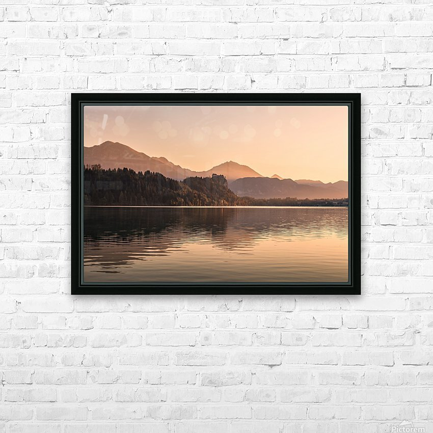 BLED 07 HD Sublimation Metal print with Decorating Float Frame (BOX)