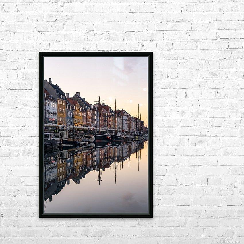 COPENHAGEN 02 HD Sublimation Metal print with Decorating Float Frame (BOX)