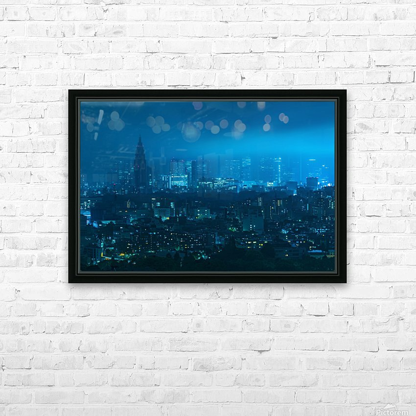 TOKYO 21 HD Sublimation Metal print with Decorating Float Frame (BOX)
