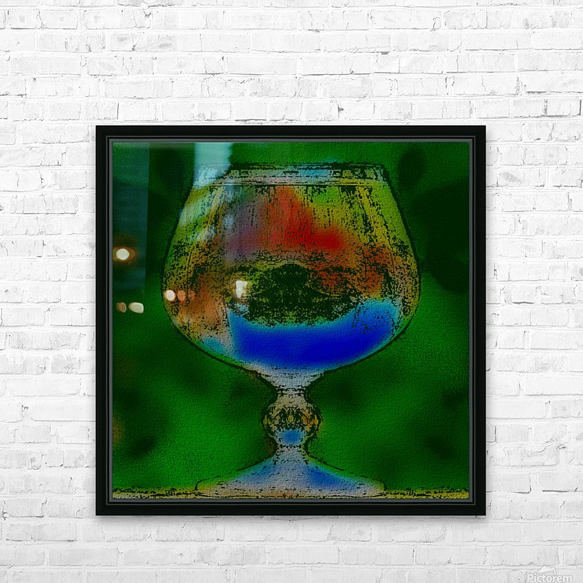 REFRACTION HD Sublimation Metal print with Decorating Float Frame (BOX)