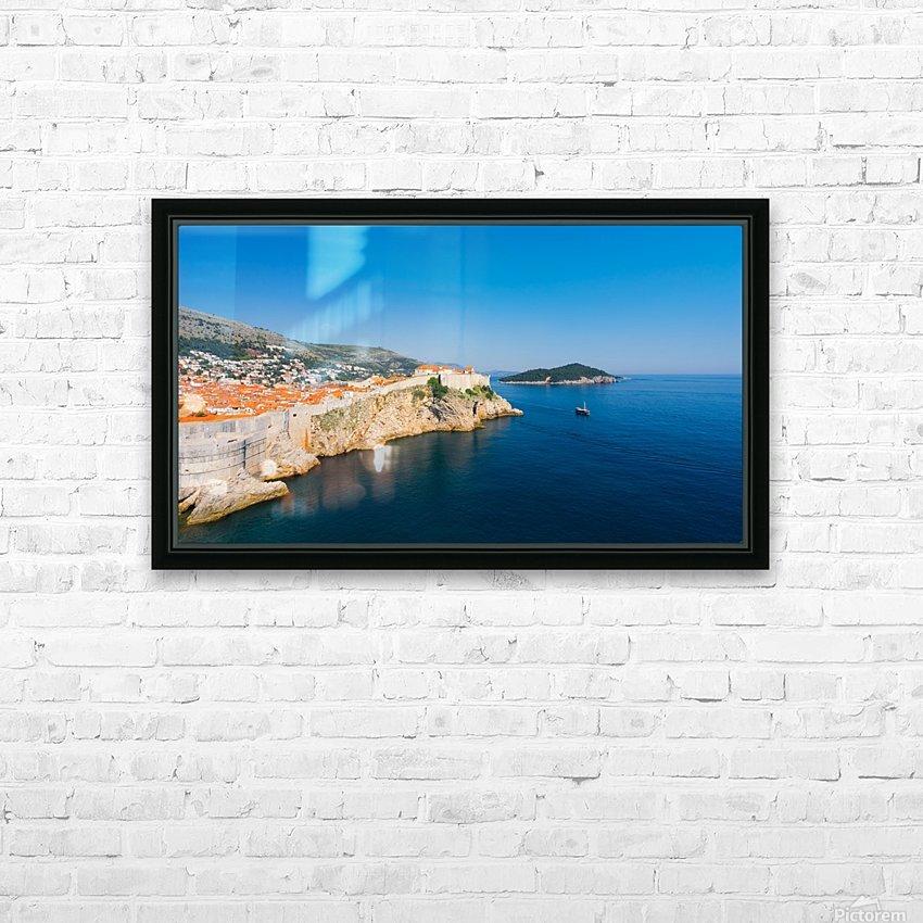 DUBROVNIK 09 HD Sublimation Metal print with Decorating Float Frame (BOX)