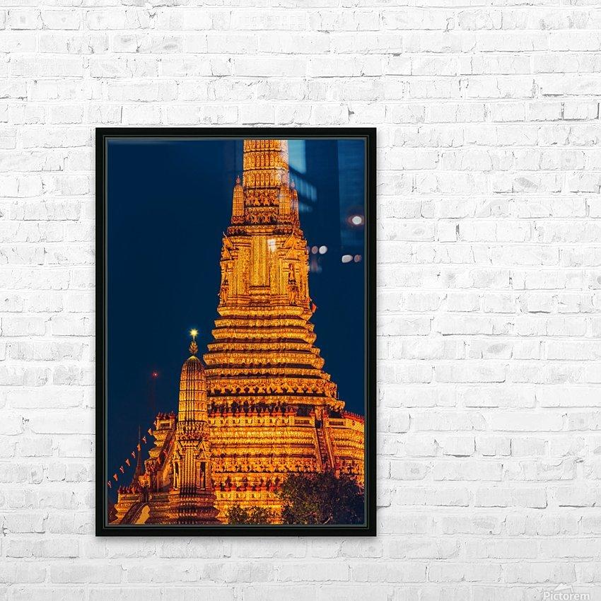 BANGKOK 04 HD Sublimation Metal print with Decorating Float Frame (BOX)