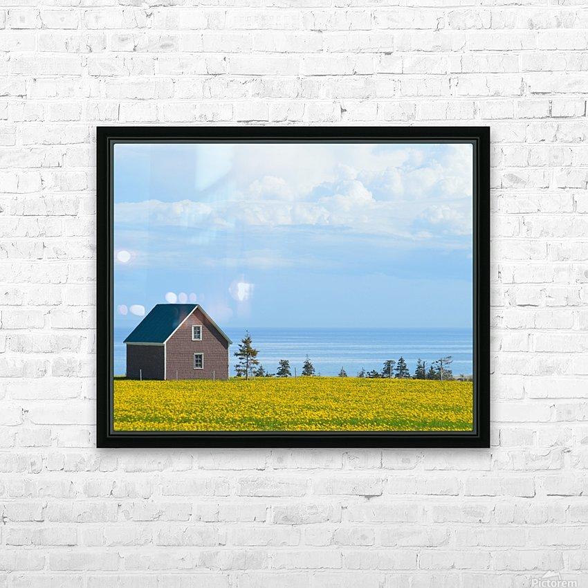 Prince Edward Island landscape HD sublimation métal imprimé avec décoration flotteur cadre (boîte)