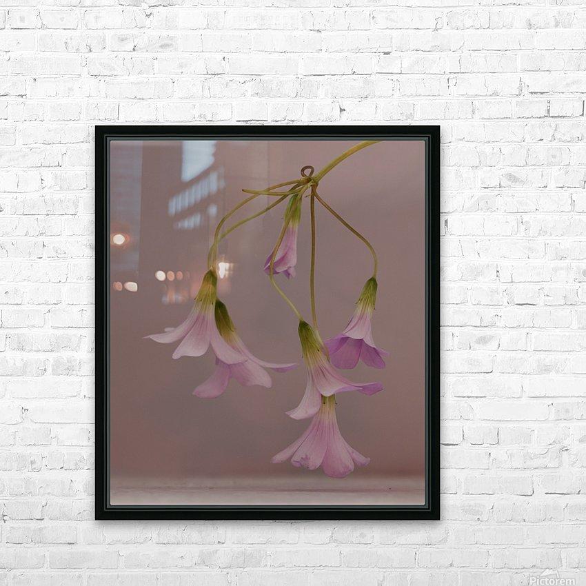 Pretty in pink HD sublimation métal imprimé avec décoration flotteur cadre (boîte)