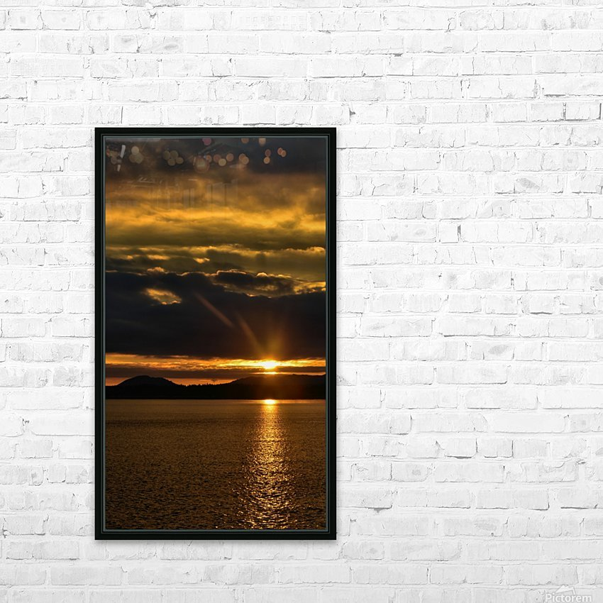 Good morning sunshine HD Sublimation Metal print with Decorating Float Frame (BOX)
