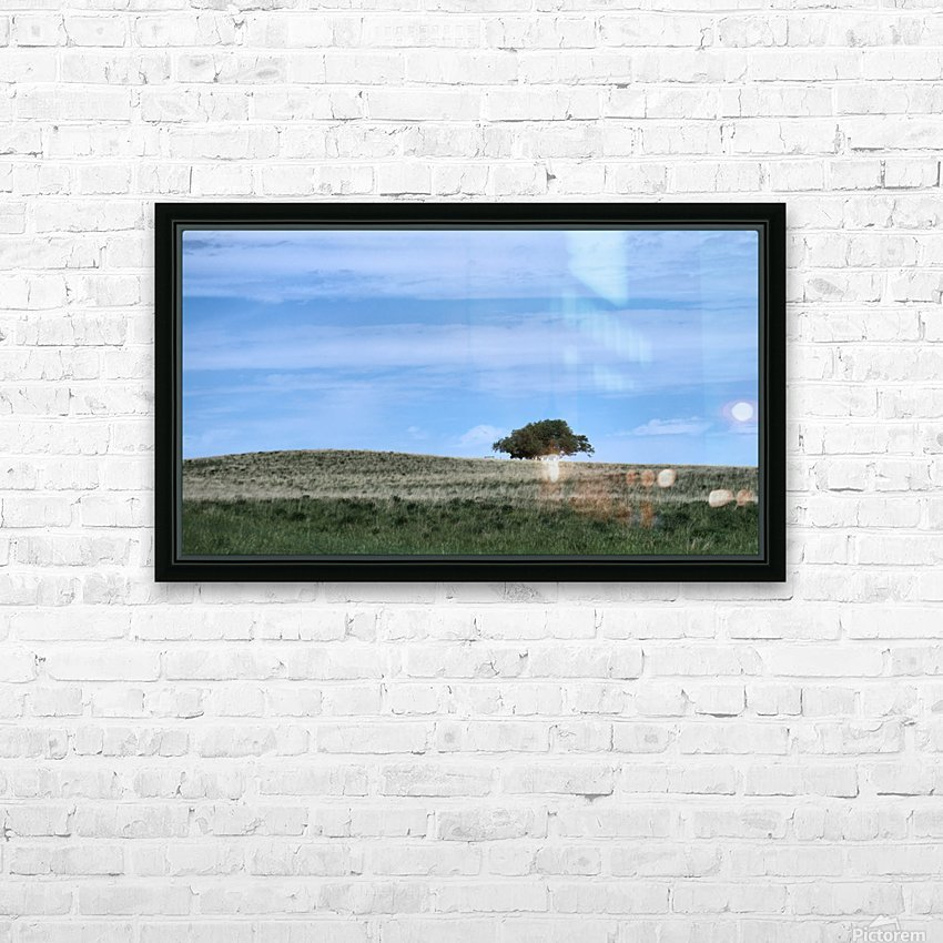 Prairie pleasantry HD Sublimation Metal print with Decorating Float Frame (BOX)