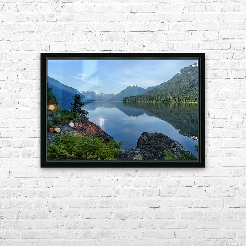 Strathcona calm HD Sublimation Metal print with Decorating Float Frame (BOX)
