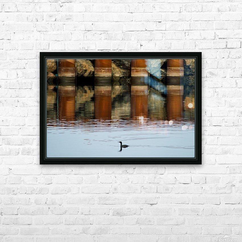 The breakwater HD sublimation métal imprimé avec décoration flotteur cadre (boîte)