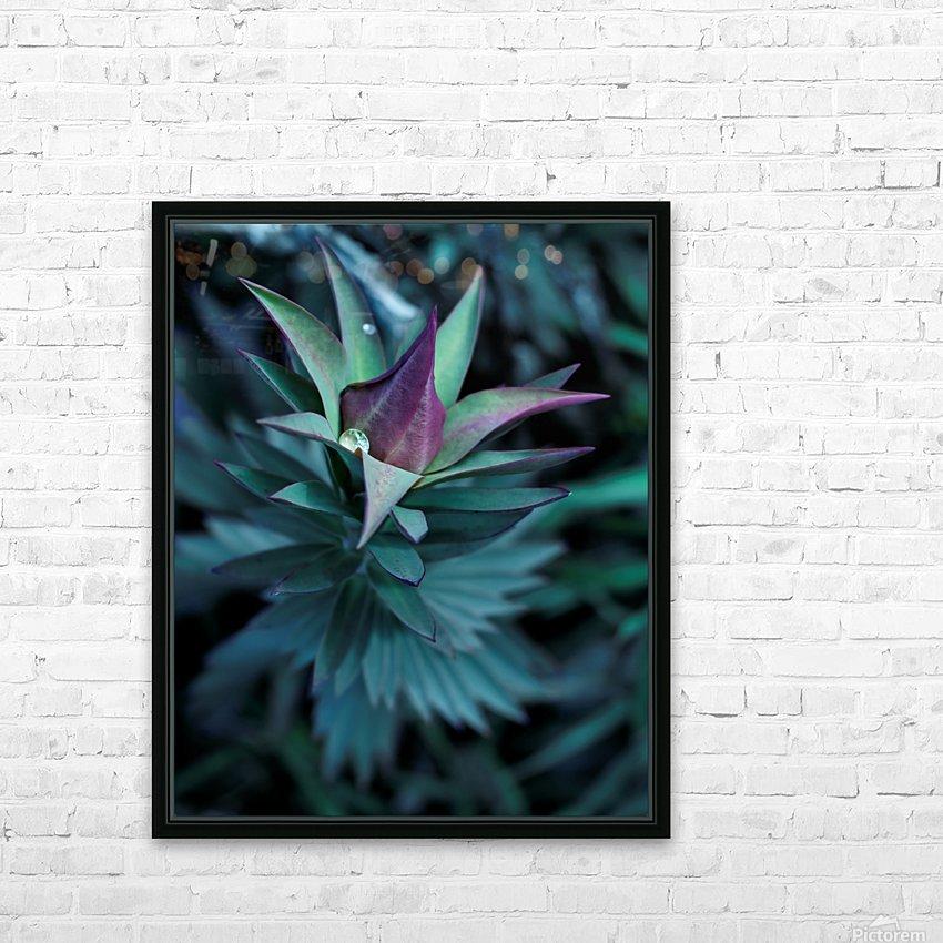 Funky flora HD sublimation métal imprimé avec décoration flotteur cadre (boîte)