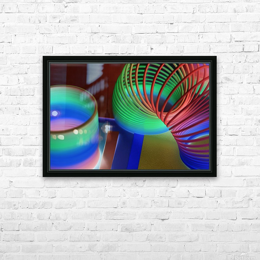 loopy HD Sublimation Metal print with Decorating Float Frame (BOX)
