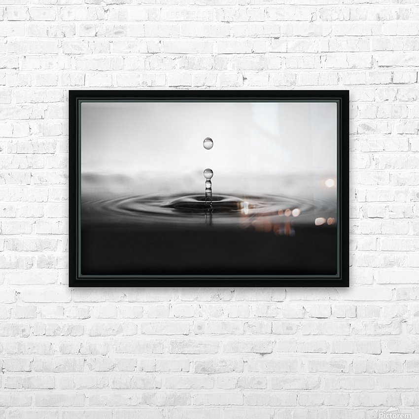 plop HD Sublimation Metal print with Decorating Float Frame (BOX)