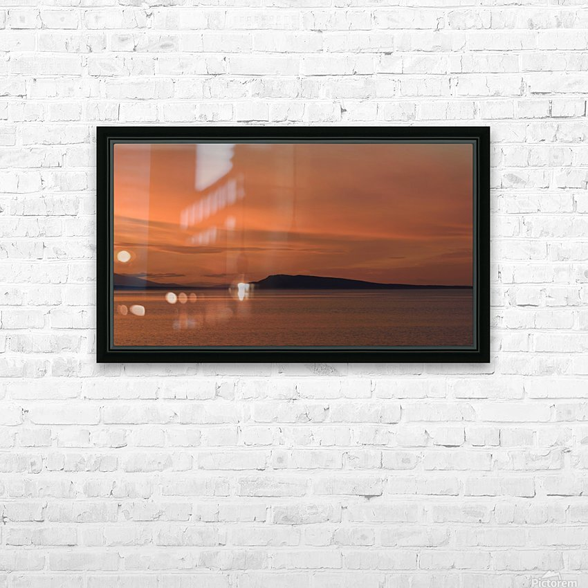 Summers end HD Sublimation Metal print with Decorating Float Frame (BOX)