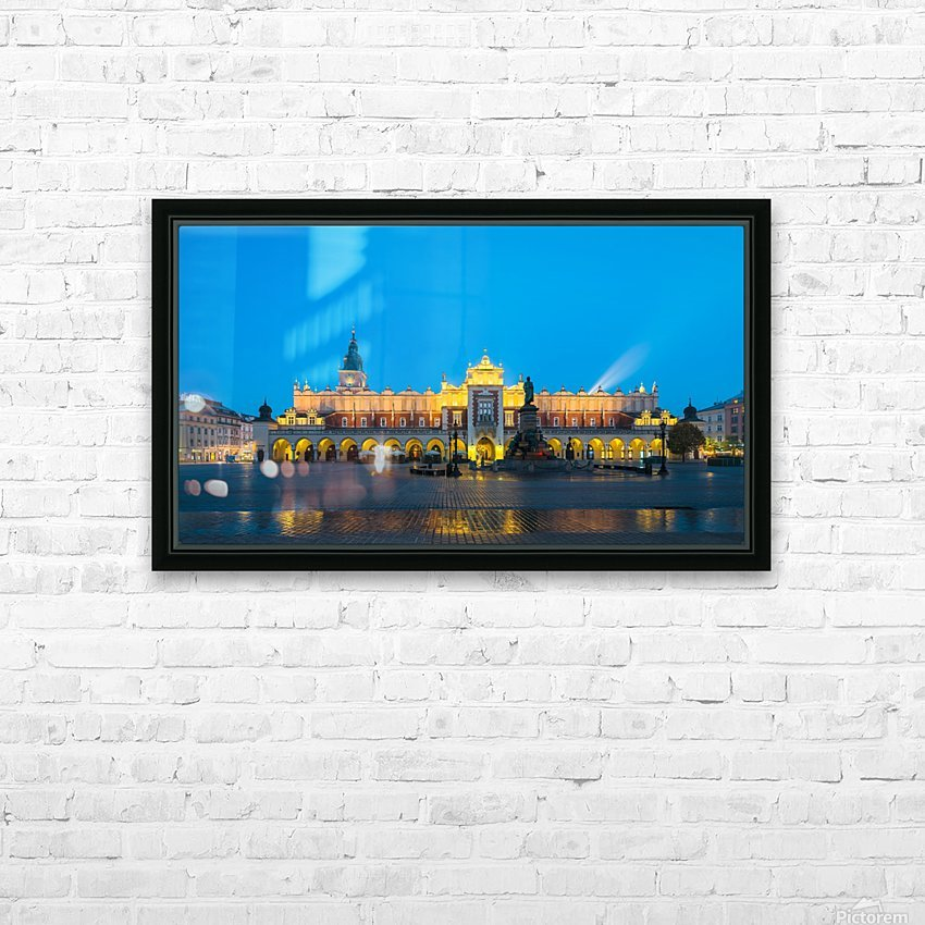 KRAKOW 03 HD Sublimation Metal print with Decorating Float Frame (BOX)